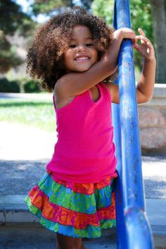 Want a little girl so I can have her hair like this. LOL