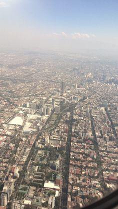 Ciudad de México desde las alturas
