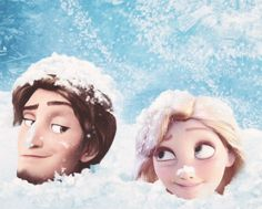 Tangled Frozen - what Flynn and Rapunzel got when they visited Arendelle ;)
