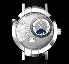 Harry Winston Premier Excenter Time Zone. Ian's watch, only with a few diamonds