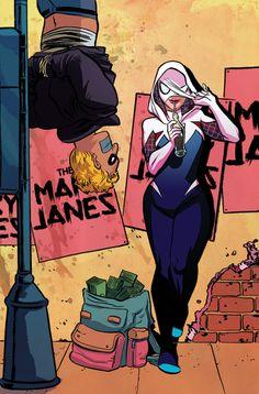 Paris Comic Con Exclusive Spider-Gwen Cover - Erica Henderson