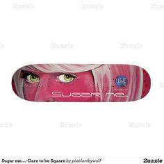 Jouw Gepersonaliseerde 21,6cm Skateboard Unique skateboard art #skateboard #art