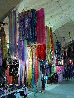 Kermanshah, Bazaar, beautiful kurdish dress