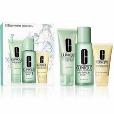 Clinique 3 Steps Peau I Peau Sèche Cosmetiques Online