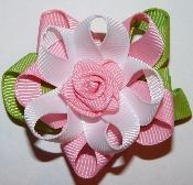 flower hair clip - $14