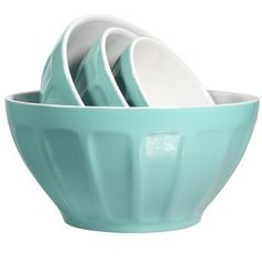 Make it easy to prepare your favorite ingredients with glass or stainless steel mixing bowls. Shop Wayfair for premium mixing bowls that are easy to clean.