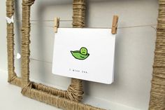 two peas in a pod.  an I MISS YOU card.    One lonely pea =(