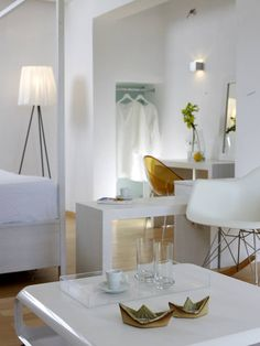The Deluxe Rooms of Pylaia Boutique Hotel & Spa, are spacious rooms with a…