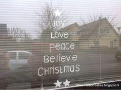 Marijecreaties: Action, Kerst, Krijtstift, Raamschilderen