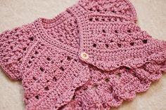 Butterfly Shrug - new crochet pattern by Mon Petit Violon.