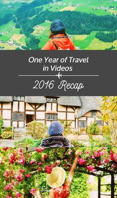 One Year of Travel - 2016 Recap
