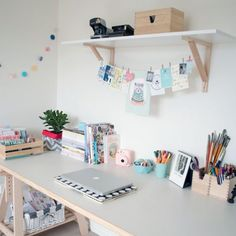 Take a tour of this room for some workspace inspiration! (via a little birdy)