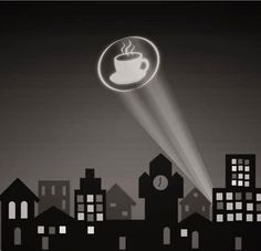 Holy Java Beans--it's the Coffee signal!! #coffee