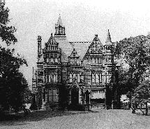 """Samuel Andrews's mansion, also called """"Andrews's Folly,"""" located on Euclid Ave., ca. 1890"""