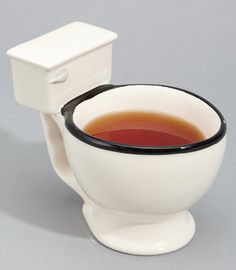 Is That A Toilet You're Drinking Out Of? - - I need to find one of these for bobby bishop - lol