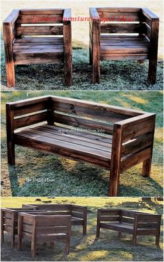 15 Adorable Gardening Furniture Projects with Wood - diy furniture plans