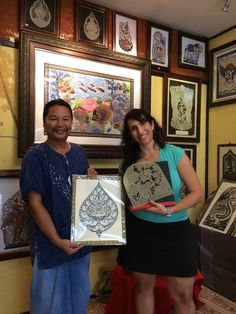 Happy clients from USA - Thank you!😊 She bought nice picture today🙏🐃🖼🌴🛍 My Gallery location is near Plai Laem temple in Koh Samui! 👉Welcome for shopping in Mystical Leather Carvings  #samui #samuicarvings #art #buffalo_skin_carvings #buffalo_skin #kohsamuiisland #kohsamuithailand #kohsamui #samuiholiday #самуи #таиланд #тай #samuilife #samui2017 #samuigallery #master_samui #kohsamui #samuiisland #handmade #handwork #handcraft #handicraft #kohsamuiisland #thailand2017 #hardwork…