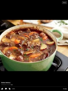 Beef Stew! It's What's For Supper!