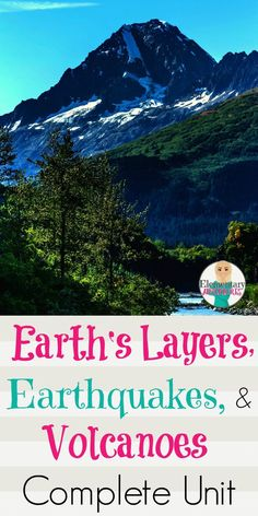A complete unit that includes a project on the Earth's layers, activities, and foldables on Earthquakes and Volcanoes. Great for your Earth Science Unit.