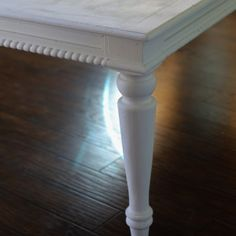 How To Chalk Paint  Furniture ** plus a good distressing technique!