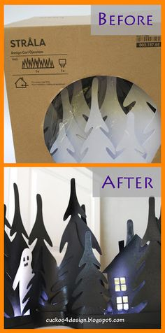 DIY Ikea Halloween: Haunted Stråla Woods