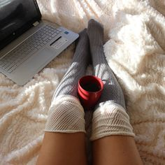 Extended Color Block Boot Socks (3 colors available) from Gypsy Outfitters -  Boho Luxe Boutique