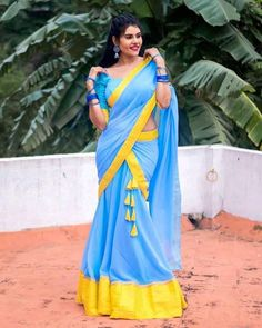 Dads Little Girl, Desi Models, Net Lehenga, Hd Picture, Half Saree, Girl Photography Poses, Indian Beauty Saree, Dressing, Sari