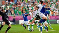 Antonio Cassano (Italy) - 1st Goal -Italy 2-0 Republic of Ireland - Last Match Group C Knockout