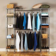 Seville Classics Expandable Steel Wire Closet Organizer: Storage & Organization : Walmart.com
