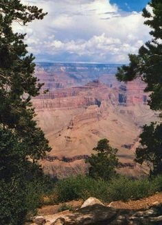 The Grand Canyon from the South Rim