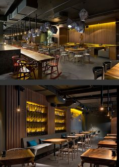 New Pan-Asian restaurant designed by YOD design studio.