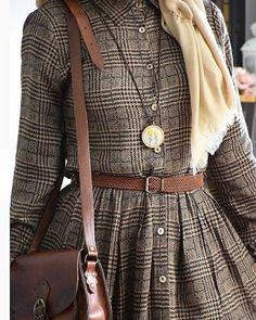 Product Image - Another! Abaya Fashion, Muslim Fashion, Modest Fashion, Fashion Dresses, Hijab Style Dress, Hijab Outfit, Mode Abaya, Mode Hijab, 40s Mode