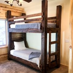 Bunk Beds Adjust, People Do Not. – Bunk Beds for Kids Queen Bunk Beds, Adult Bunk Beds, Bunk Beds Boys, Bunk Bed Plans, Bunk Beds With Stairs, King Beds, Bunk Bed Rooms, Full Bed Frame, King Bed Frame