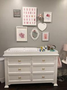Lana's Nursery - Project Nursery Baby Nursery Closet, Nursery Dresser, Baby Nursery Diy, Baby Nursery Themes, Baby Nursery Furniture, Baby Boy Rooms, Baby Room Decor, Nursery Ideas, Girl Nursery