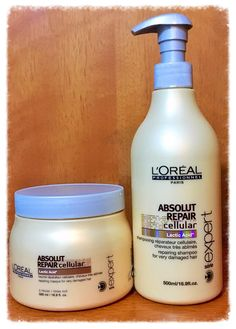 Shampoo e Máscara Absolut Repair Cellular Lactic Acid L'Oréal Professionnel