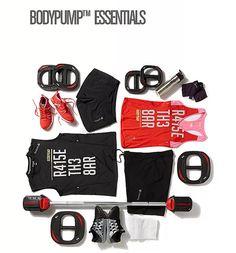 #BODYPUMP essentials from #reebok #raisethebar