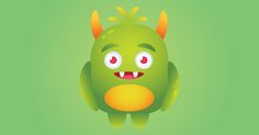 Video tutorial: How to create a funny monster in illustrator