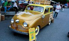 1947 - 49 Crosley Station Wagon turned Taxi Cab