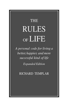 The rules of life by Ikechukwu Daniel Agwu - issuu