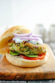Zucchini Veggie Burgers with Quinoa
