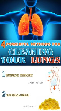 4 POWERFUL METHODS FOR CLEANING YOUR LUNGS!
