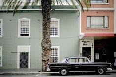 Long Street, Cape Town - love these colors together
