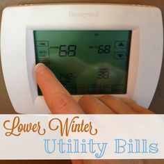 High heat bills? Check out these tips for lowering the bills.