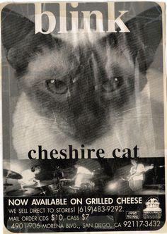blink (182) chesire cat