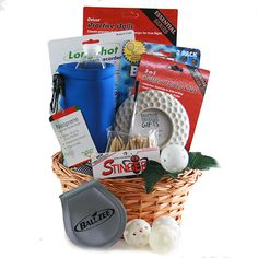 Delightful Hole-In-One Golf Gifts Ideas. Spectacular Hole-In-One Golf Gifts Ideas. Golf Ball Crafts, Bosses Day Gifts, Burton, Themed Gift Baskets, Perfect Golf, Hot, Golf Gifts, Golf Accessories, Golf Fashion