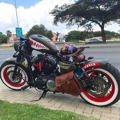 Harley Davidson News – Harley Davidson Bike Pics Harley Davidson Custom Bike, Harley Davidson Chopper, Harley Davidson Sportster, Custom Bobber, Custom Motorcycles, Custom Bikes, Custom Sportster, Honda Bobber, Bobber Motorcycle