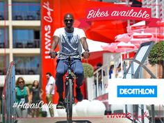 Tired of walking? We have bikes at the #HavasCafe!