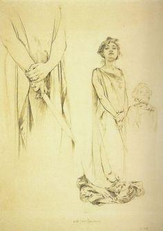 Aphonse Mucha realizó en 1894 el cartel para la obra interpretada por Sarah Bernhardt Gismonda.  Este encargo fue determinante para su carre...