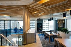 Cushman & Wakefield is a global commercial real estate services company occupying two floors of 1 O'Connell Street in Sydney's CBD. Interior Work, Interior Design, Work Cafe, Workplace Design, Wakefield, Real Estate Services, Commercial Real Estate, Office Interiors, Second Floor