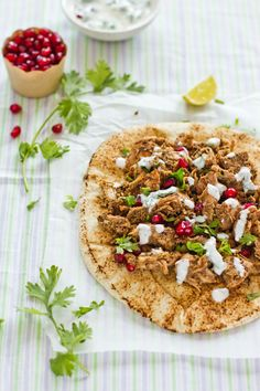 "Arabic Shawarma. Recipe & photography by Sukaina / ""Sips and Spoonfuls"""